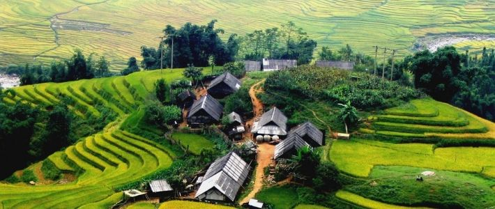 visite village Lao Chai Ta Van à Sapa