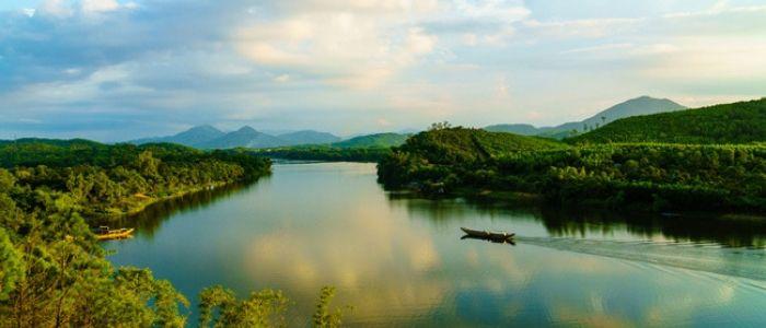 colline de Vong Canh - La ville Hue