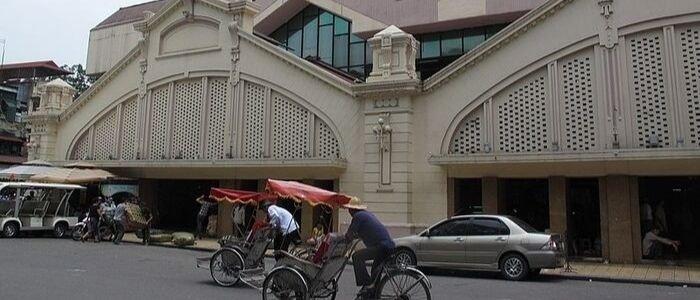 Le marché de Dong Xuan au présent