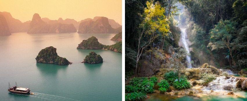 Circuit combiné Vietnam et Laos