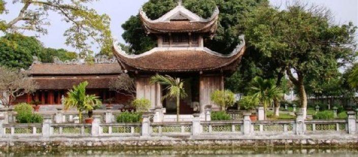 Le Temple de la Littérature Xich Dang à Hung Yen