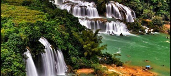 Les chutes d'eau de Ban Gioc Cao Bang