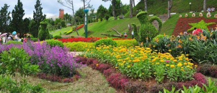 Parc des fleurs à Dalat