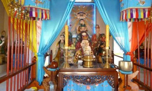 La religion caodaïste à Tay Ninh
