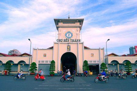 visite marché ben thanh Saigon