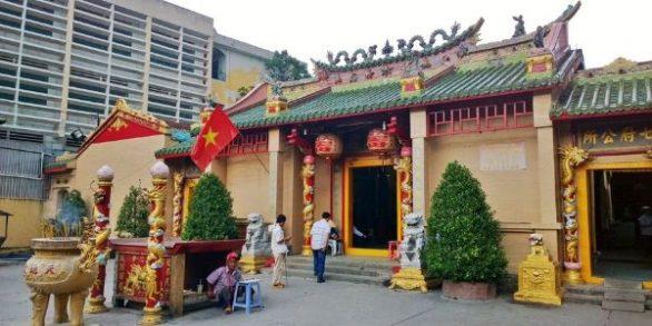 Pagode de Ba Thien Hau Binh Duong