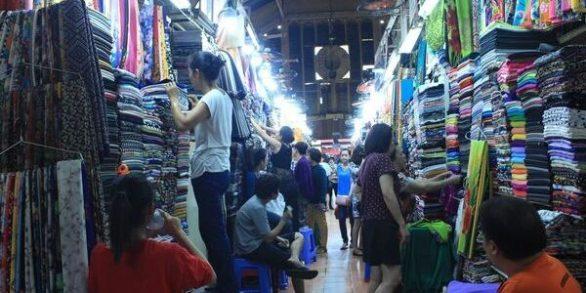 sejour au Vietnam marché de Tan Dinh