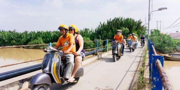 Circuit visite Cu Chi Saigon en vespa 1 jour