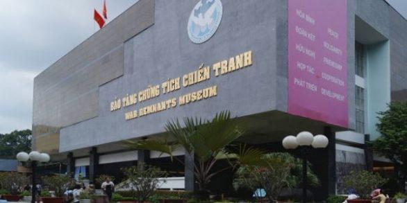 Musée des vestiges de la guerre à Ho Chi Minh Ville