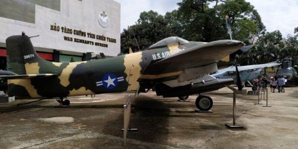 Visite du musée des vestiges de la Guerre