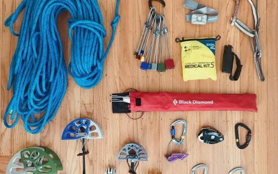 Preppin For A Self Guided Climbing Adventure California