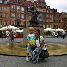 Not only children enjoy listening to Warsaw legends. Guide Margaret knows them all.