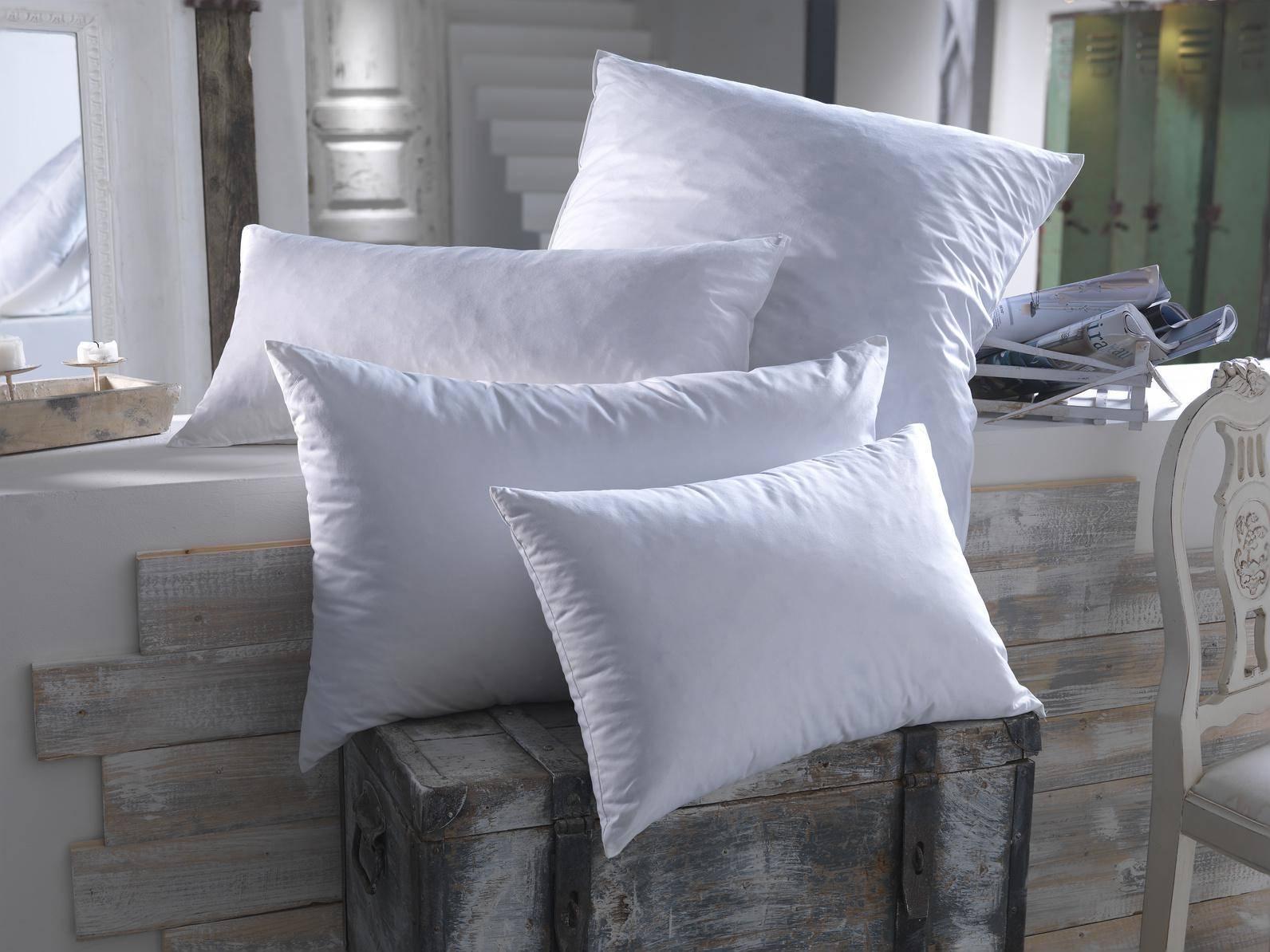 taille et la forme de son oreiller