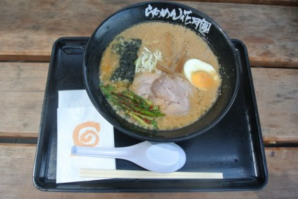 This photo is Ramen 花月 at NArita airport.