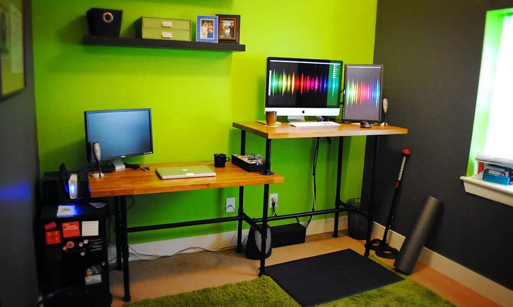 Diy Elevated Desk 21 Diy Standing Or Stand Up Desk Ideas | Guide Patterns