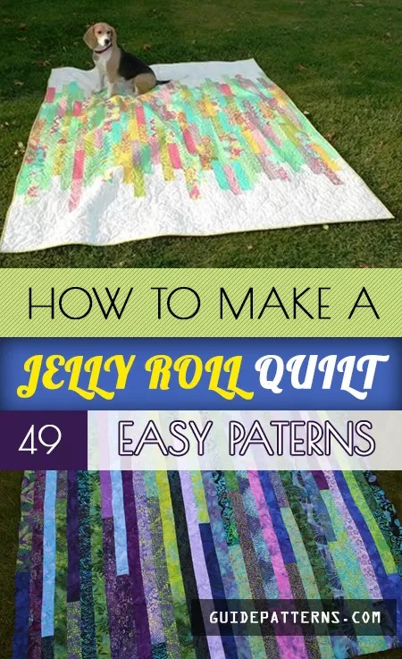 Free Quilt Patterns Using Jelly Rolls : quilt, patterns, using, jelly, rolls, Jelly, Quilt:, Patterns, Guide