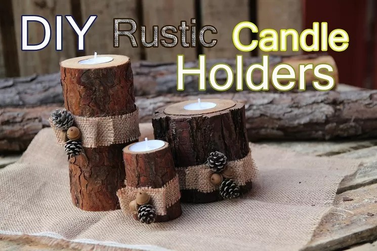 Birch Wood Fireplace Logs 11 Homemade Log Candle Holders | Guide Patterns