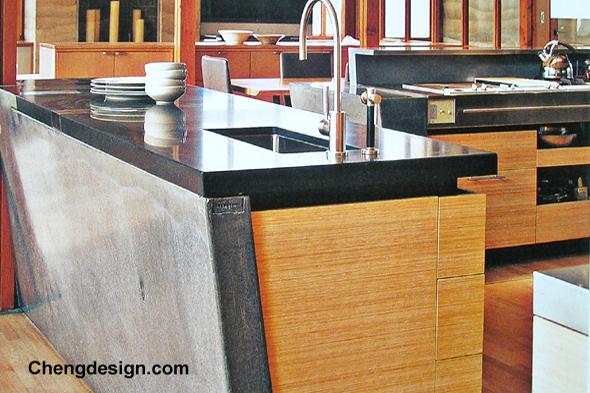 comptoirs beton cuisine salle de bain