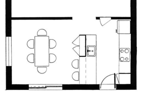 poubelle de cuisine design