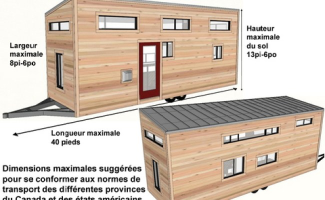 Maison Mobile Dimension