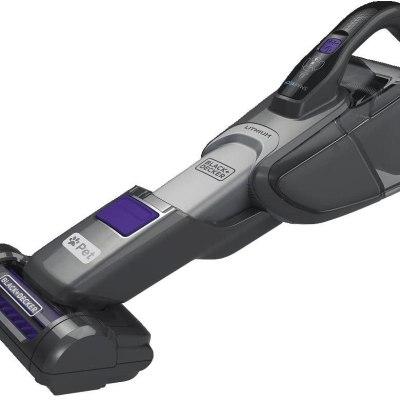 black+decker cordless hand vacuum