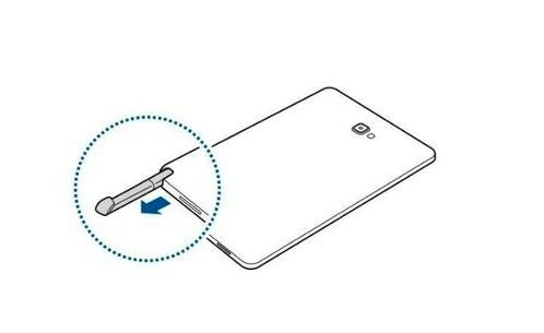 Samsung introduced the tablet with built-in stylus pen