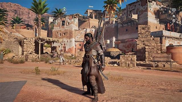 Bayek con pelo y barba - ¿Cómo hacer crecer el cabello de Bayeks?  - Preguntas frecuentes - Guía del juego Assassins Creed Origins