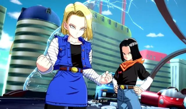 Android 18 is one of Dragon Ball Fighter Z's
