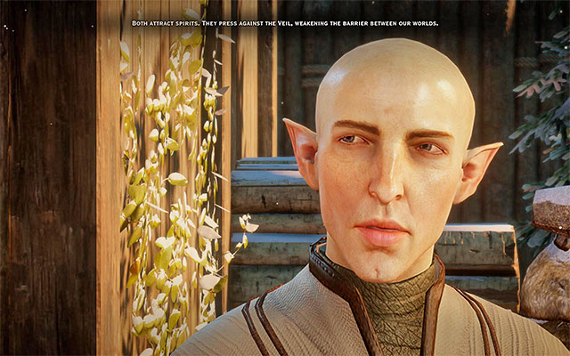 Download Wallpaper Iphone X Romance With Solas Dragon Age Inquisition Game Guide