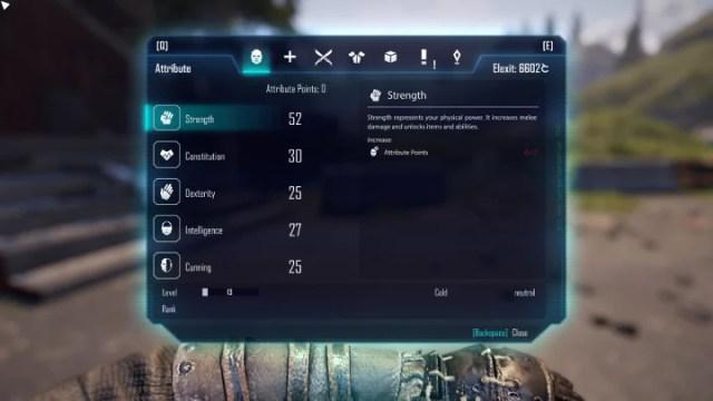 A continuación, puedes encontrar una lista de todas las habilidades disponibles en el juego - Desarrollo de personajes, atributos y habilidades - Desarrollo de personajes - Elex Game Guide