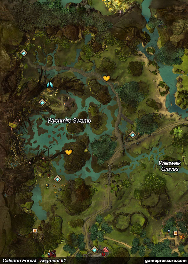 Caledon Forest Hero Points : caledon, forest, points, Caledon, Forest, Guild, Guide, Gamepressure.com