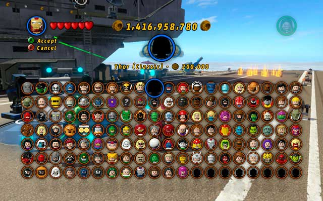 Lego Marvel Super Heroes Map Area