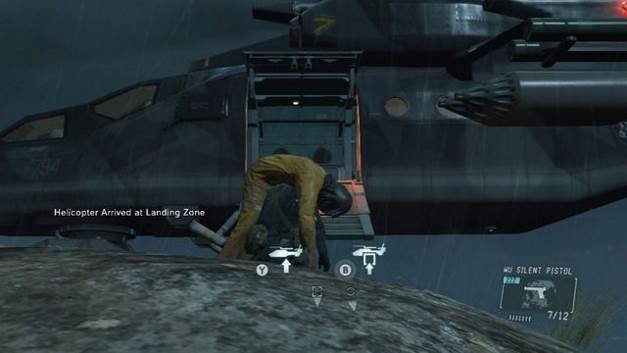 Image result for mgsv ground zeroes rescue
