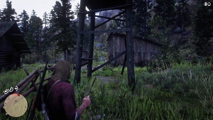В усадьбе вам нужно добраться до сарая - Усадьбы - Карты сокровищ в Red Dead Redemption 2 - Карта сокровищ - Red Dead Redemption 2 Guide