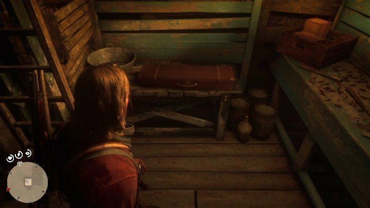 В подвале вы найдете полуавтоматическую винтовку - Homestead Stashes - Карты сокровищ в Red Dead Redemption 2 - Карта сокровищ - Red Dead Redemption 2 Guide