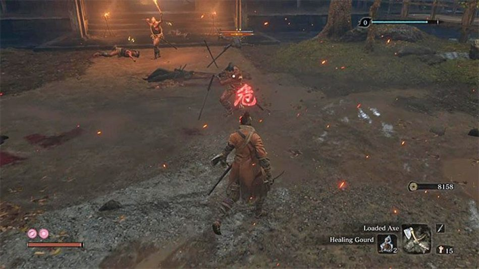 نتيجة بحث الصور عن ‪Sekiro: Shadows Die Twice Mikiri Counter‬‏