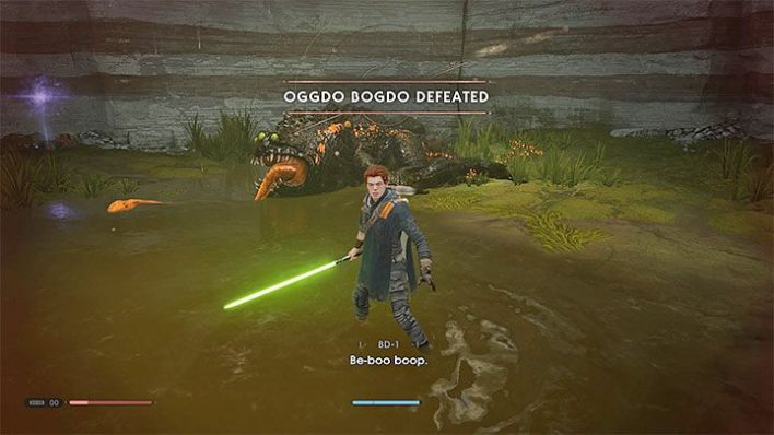 As for Oggdo Bogdo, you dont have to wait long to try to face the boss again - Why cant I defeat the Ogggo Bogdo toad in Fallen Order? - Combat - Star Wars Jedi Fallen Order Guide