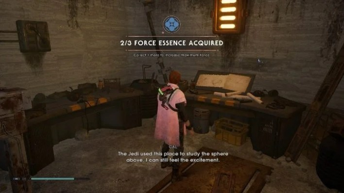 Part of the map: Bogdo Sinkholes - Secrets in Bogano   Jedi Fallen Order Secrets - Bogano - Star Wars Jedi Fallen Order Guide
