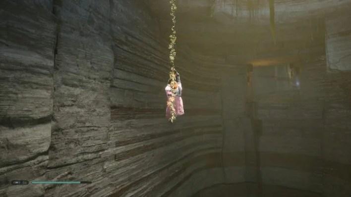 Use a double jump to get on the wall - Secrets in Bogano   Jedi Fallen Order Secrets - Bogano - Star Wars Jedi Fallen Order Guide