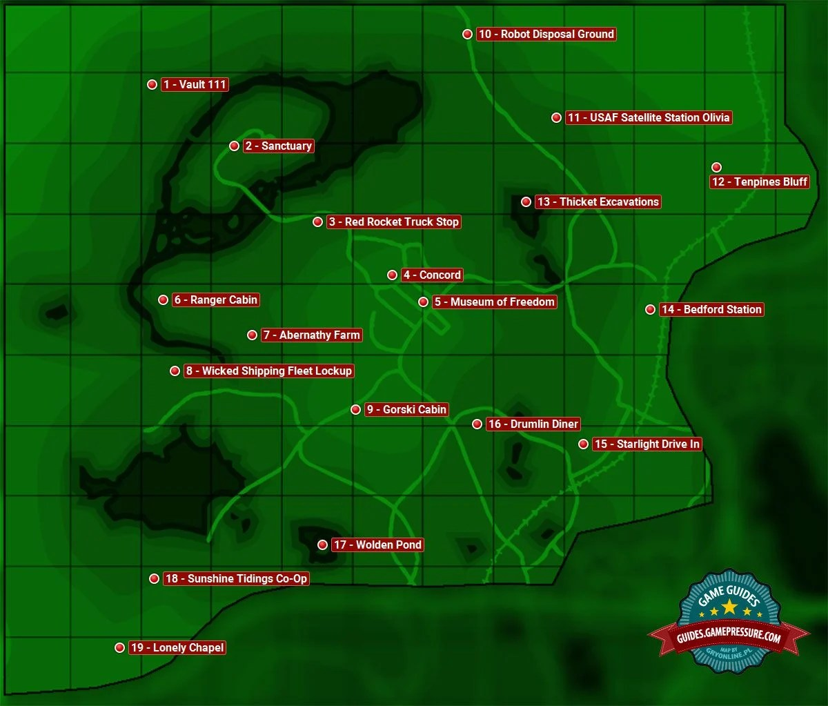 map of sanctuary sector