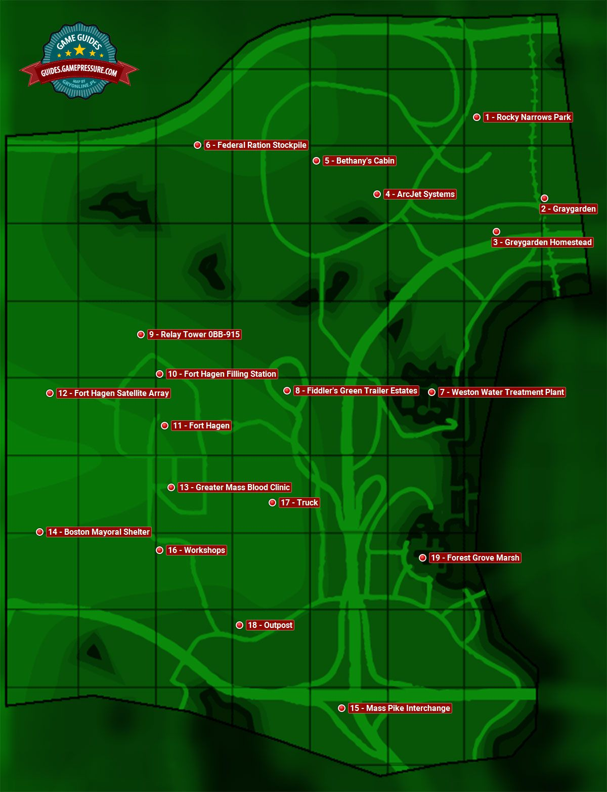Fallout 4 Enemy Level Map : fallout, enemy, level, Hagen, Sector, Fallout, Guide, Walkthrough, Gamepressure.com