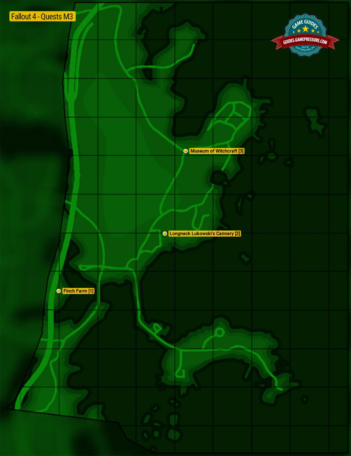 Fallout 4 Enemy Level Map : fallout, enemy, level, Salem, Fallout, Guide, Walkthrough, Gamepressure.com