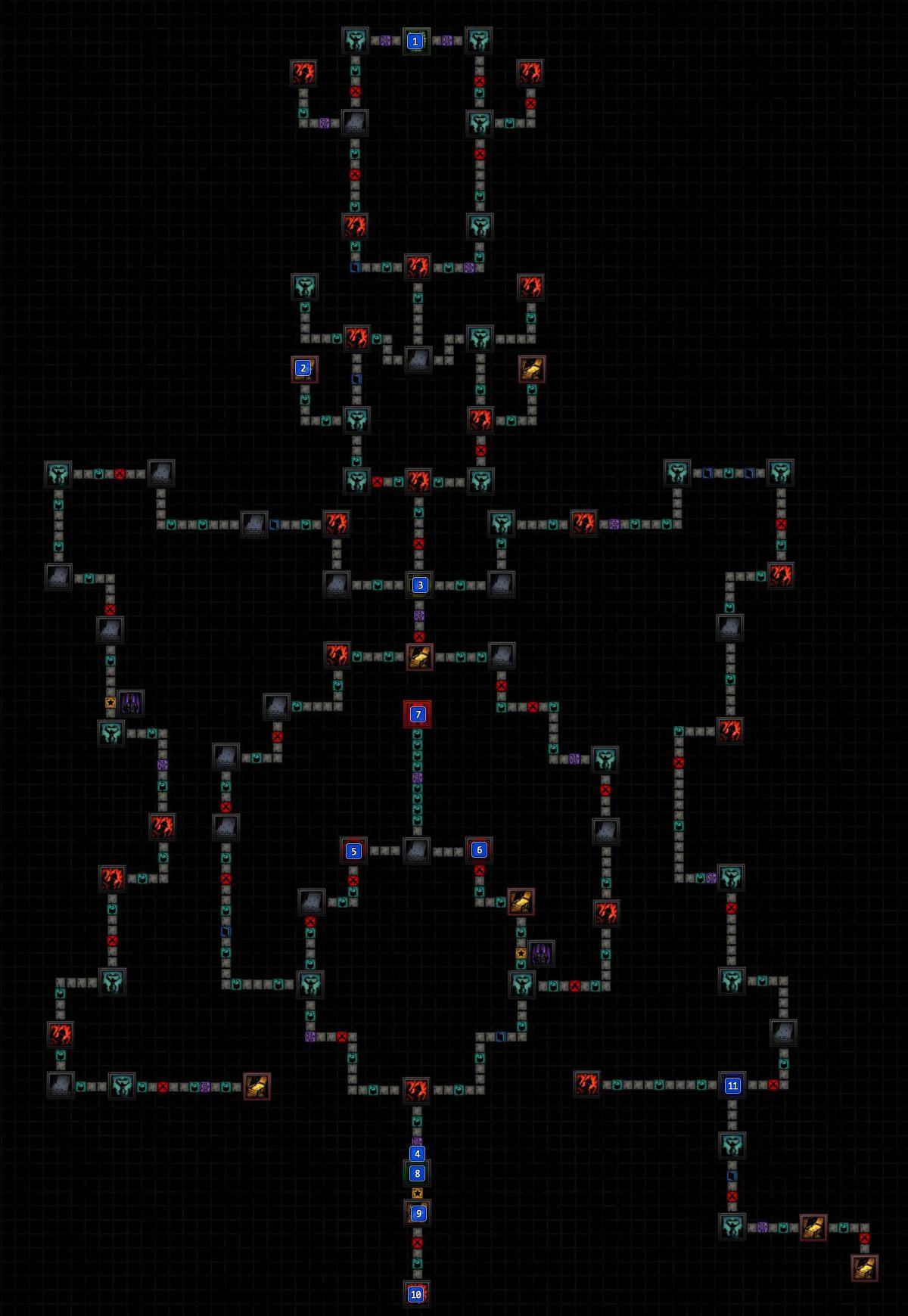 Darkest Dungeon Crimson Court Map : darkest, dungeon, crimson, court, Mission, Bewitching, Predator, Courtyard, Darkest, Dungeon, Guide, Walkthrough, Gamepressure.com