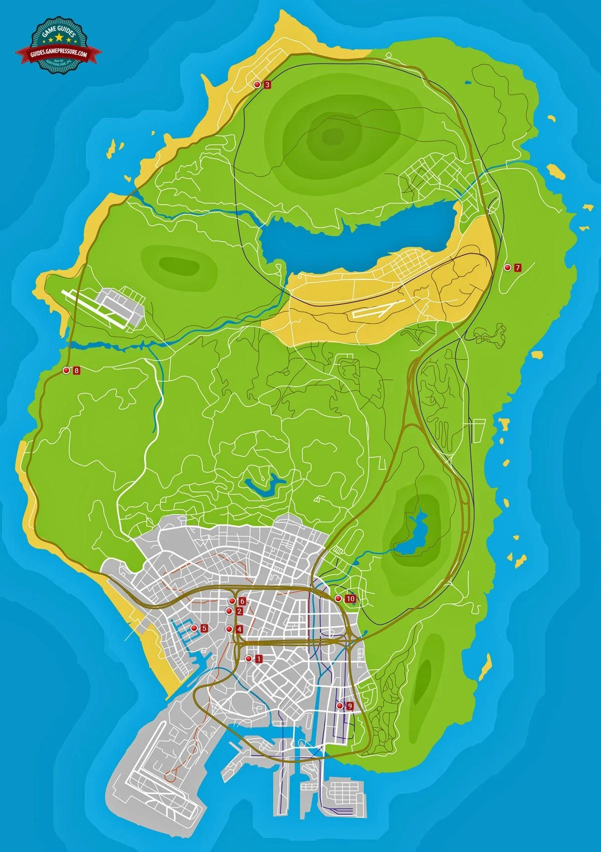 Gta 5 Secret Island Offline : secret, island, offline, Armored, Locations, Supercars, Gallery