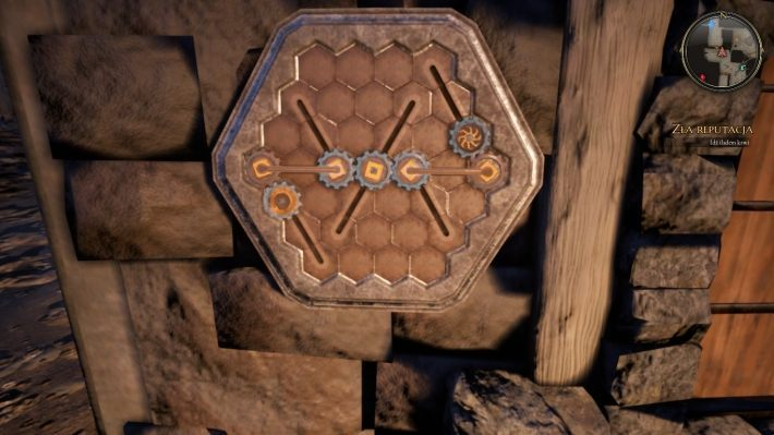 У этого квеста есть только одна головоломка - Gears    Головоломки в The Bards Tale 4 - Пазлы - The Bards Tale 4 Game Guide