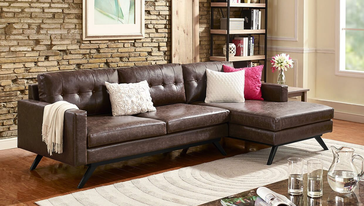 Small Sectional Sofas & Couches For Small Spaces