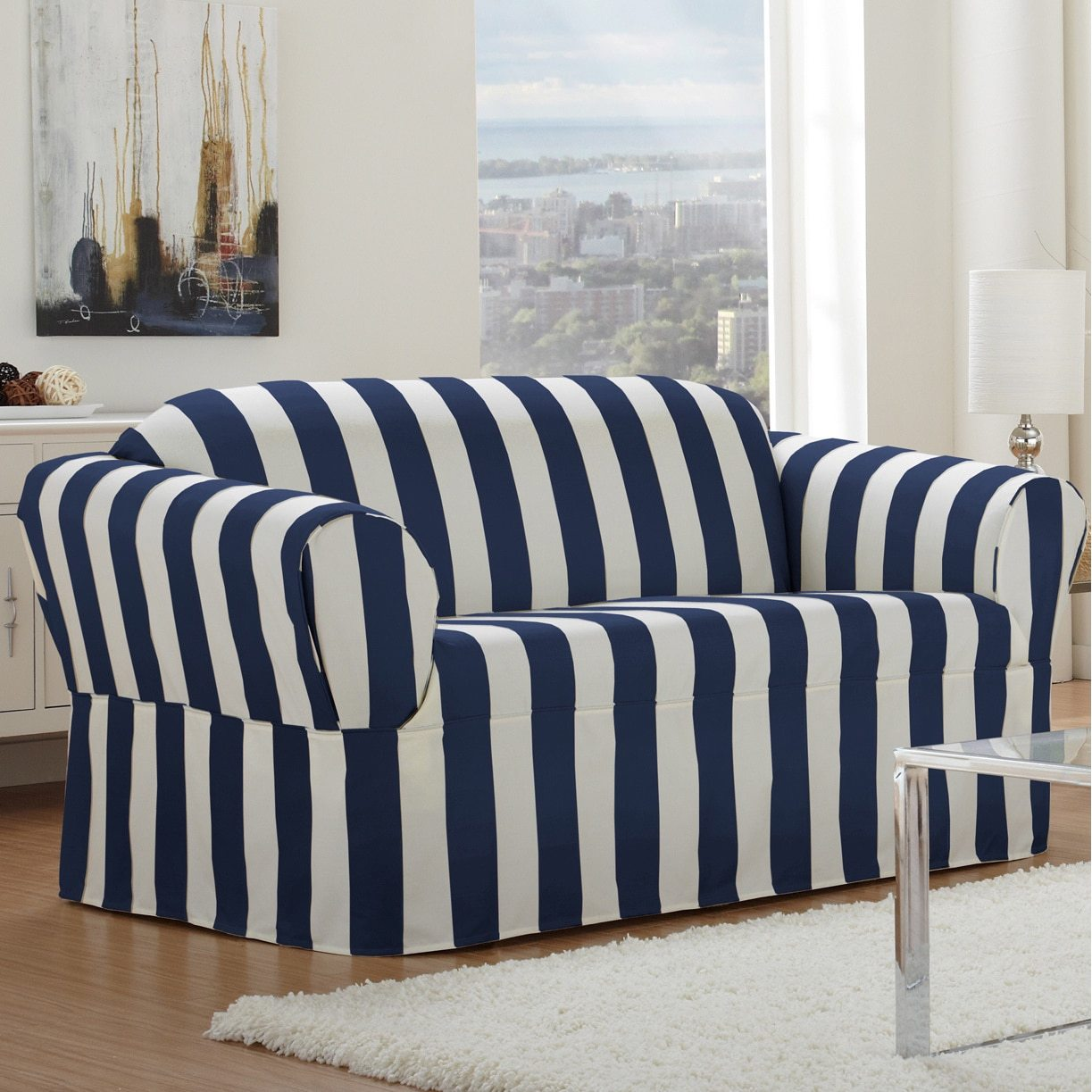 overstock sofa covers art van and loveseat 5 steps to choosing a durable slipcover