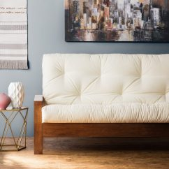 Best Mattress Topper For Sofa Bed Natalia Leather And Chenille 6 Tips To Make A Futon More Comfortable - Overstock.com