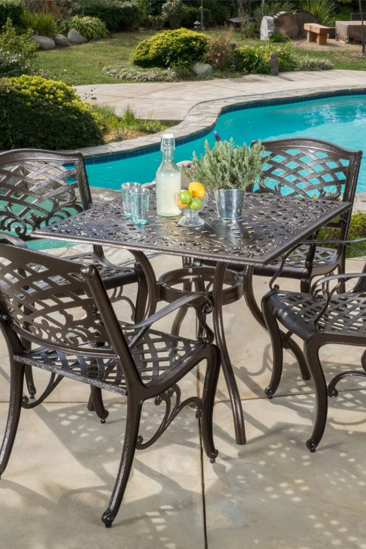 metal patio chair covers for parties how to choose the best set overstock com