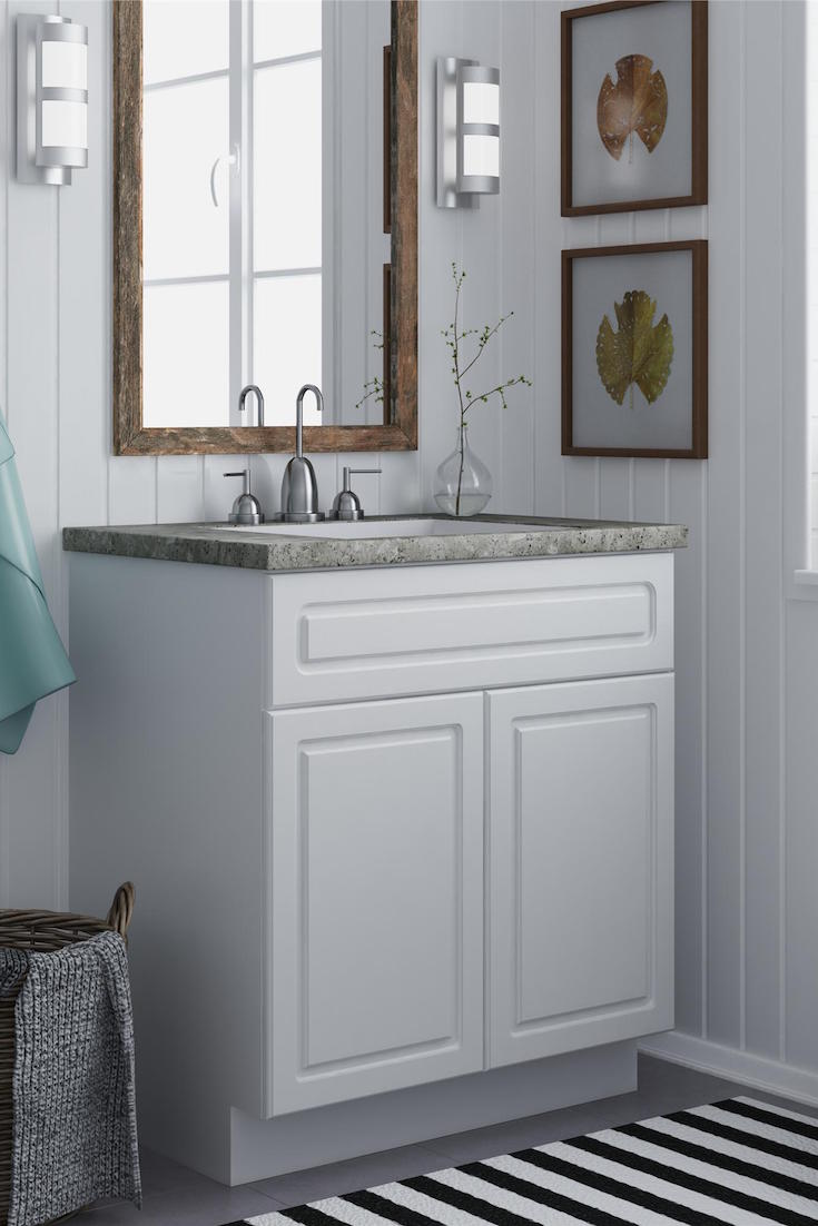 How to Maximize Your Small Bathroom Vanity  Overstockcom